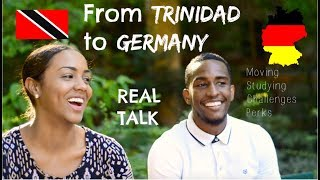 from TRINIDAD to GERMANY | Moving & Studying (ft. DAVID W.)