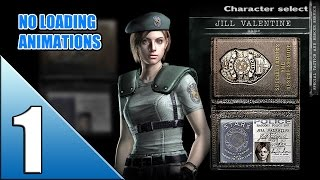 Resident Evil HD Remaster [Jill - no loading] walkthrough part 1