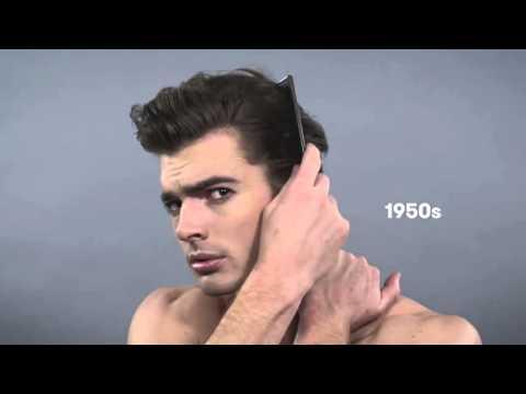 Как менялись мужские прически в течение века