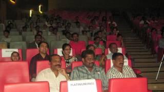 Shivarudra Naik and Divya shree watching Rajesh krishnan music event live