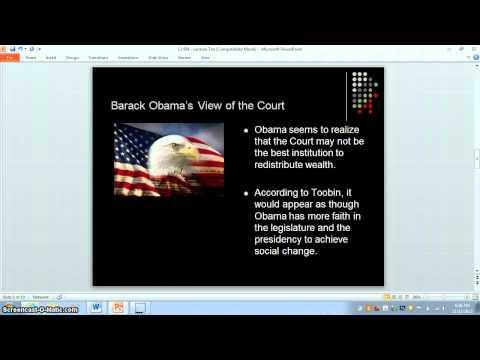 Examining Jeffrey Toobin's (2012) The Oath