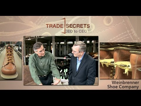 Trade Secrets | CEO to CEO:  Weinbrenner Shoes