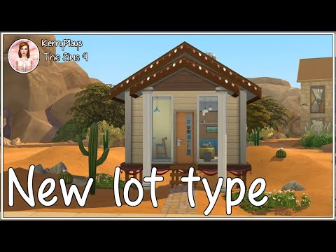 Tiny Living| A new lot type| The Sims 4 |