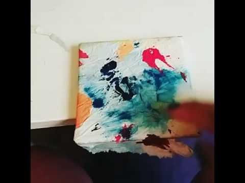 ~*~ easy DIY coasters~*~ using paper towel!!! Pt5