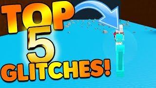 TOP 5 BEST GLITCHES EVER MADE! | Build A Boat For Treasure ROBLOX