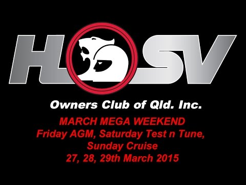 HSVOC - March Mega Weekend