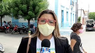 VEREADORA LÍVIA MAIA FAZ DESABAFO SOBRE COMENTÁRIOS DE UM COLEGA VEREADOR EM LIMOEIRO DO NORTE;CE