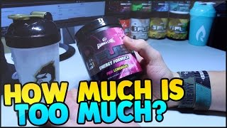 HOW MUCH G-FUEL DO I HAVE? - HOW MUCH IS OKAY? - ARE YOU TOO YOUNG?