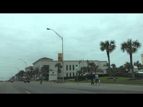 Galveston, Texas Seawall BLVD