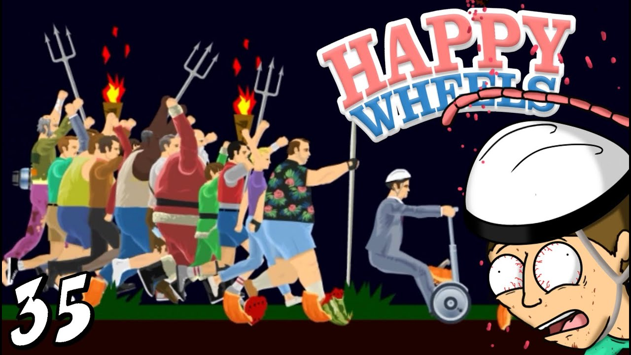 LE FOLLE MI ADORANO!! ç__ç - Happy Wheels [Ep.35]