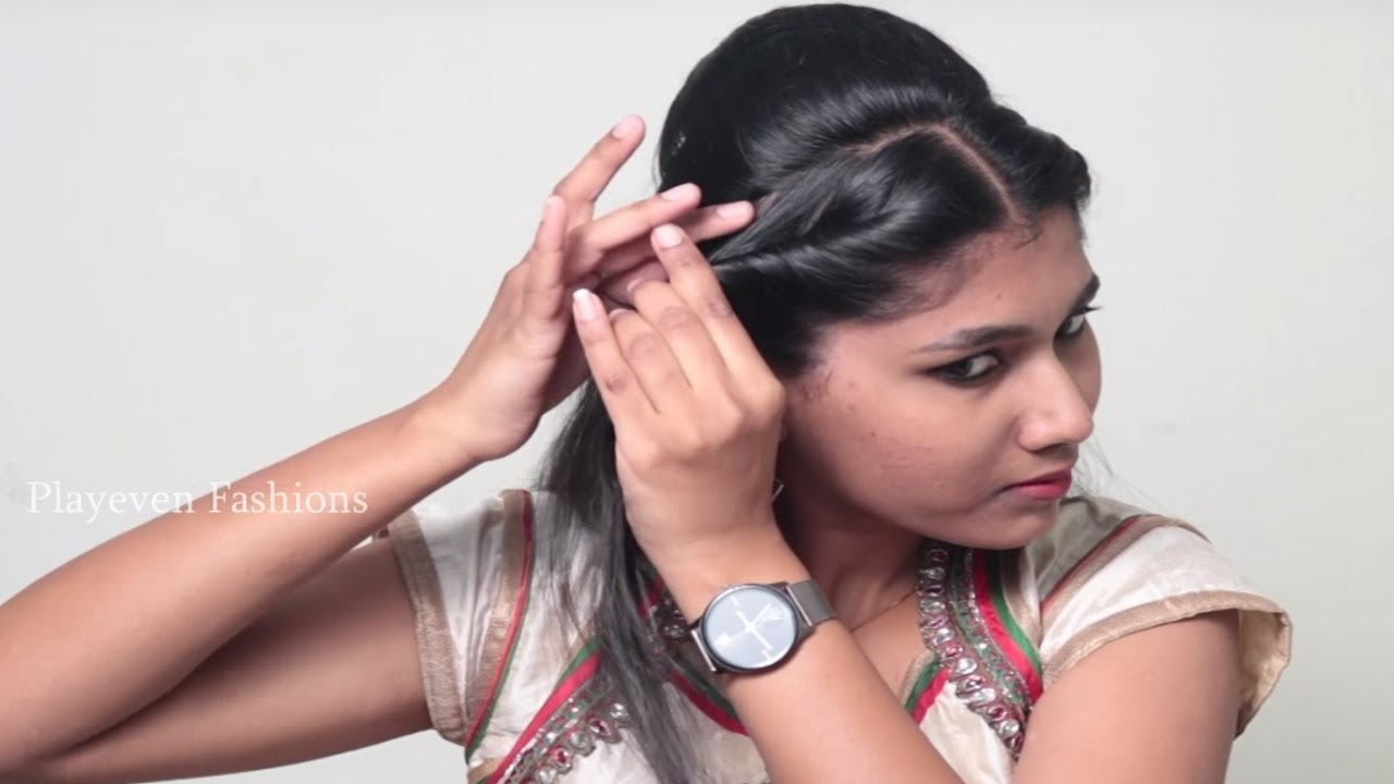 Easy Self Hairstyle For Long Hair Self Hairstyles Step By Step Tutorials