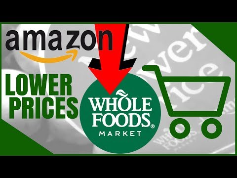 Amazon Lowering Prices at Whole Foods!