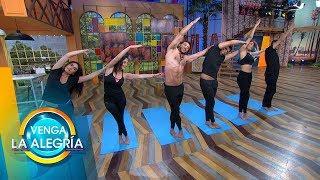 ¡Cierra la semana con la mejor energía haciendo esta pequeña sesión de yoga! | Venga La Alegría