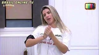 A Fazenda - Peões disputam quem mais dorme durante o dia no reality. - 03/11/2017