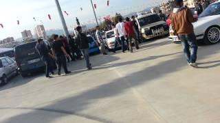Mersin Cumhuriyet Meydanı Garaj 33 Drift Show