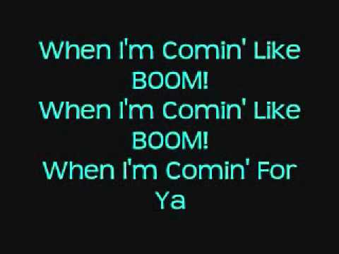 Here Comes The Boom-Lyrics Onscreen-Nelly