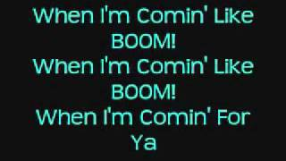 Here Comes The Boom Lyrics Onscreen Nelly