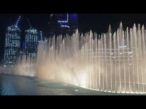 The Dubai Fountain Show: Baby Shark (Oct 2019)