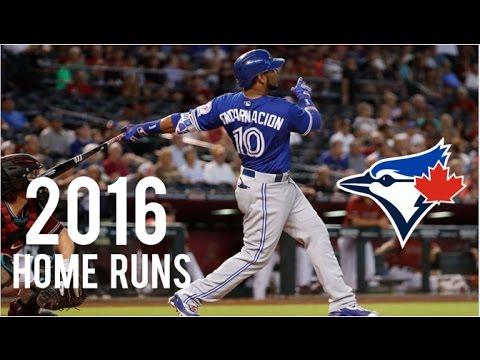 Toronto Blue Jays | 2016 Home Runs (221)
