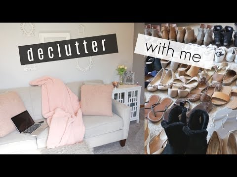 SHOE & JEWELRY LIVING ROOM DECLUTTER  /  /  MY MINIMALIST JOURNEY