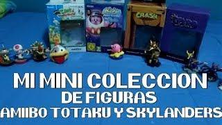 ¡Mi mini colección/collection de figuras Amiibo, Totaku y Skylanders