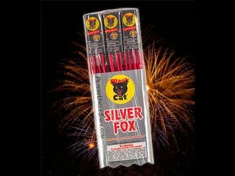 year 2 silver fox bottle rockets black cat hd youtube