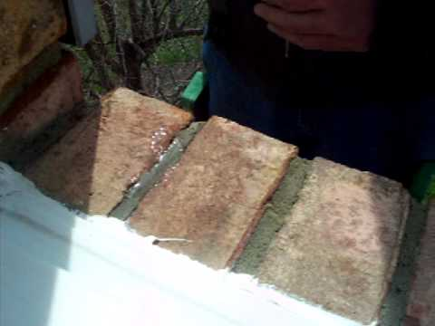 Rowlock Course Brick Sill Leak Water Into Bay Window Youtube
