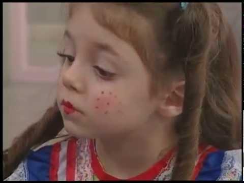 Maquiagem Em Criancas Para Festa Junina Youtube