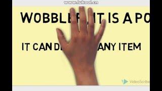 how to use a  shelf wobbler