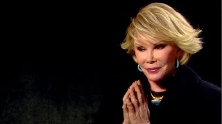 The late Joan Rivers lived in a haunted apartment | Celebrity Ghost Stories