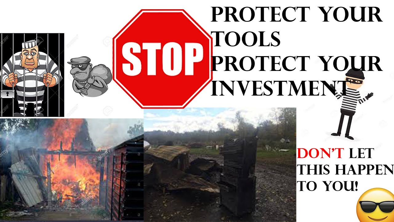 Best Ways To Protect Your Tools and To Protect Your Investment