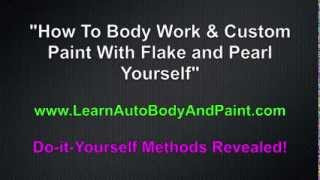 How To Custom Paint Your Car or Tractor Yourself