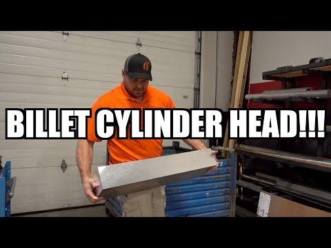 CRAZY CUMMINS BILLET CYLINDER HEAD!!!
