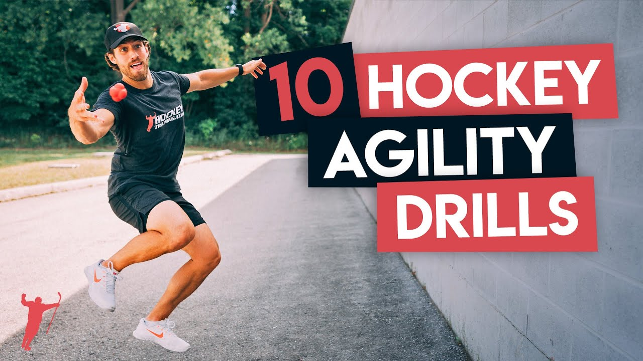 10 HOCKEY AGILITY DRILLS TO UPGRADE YOUR SKATING 🏒