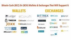 FULL LIST | Bitcoin Cash (BCC) Or (BCH) Wallets & Exchanges That Will Support It