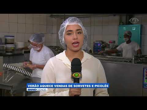 """Band Cidade - """"Verão aquece vendas de sorvetes e picolés"""""""