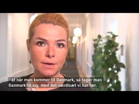 Inger Støjberg definerer god integration på 25 sekunder - DR Nyheder
