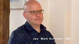 Sommerinterview zur Kommunalwahl 2020 - BIE Queer e.V. + Jan Maik Schlifter FDP