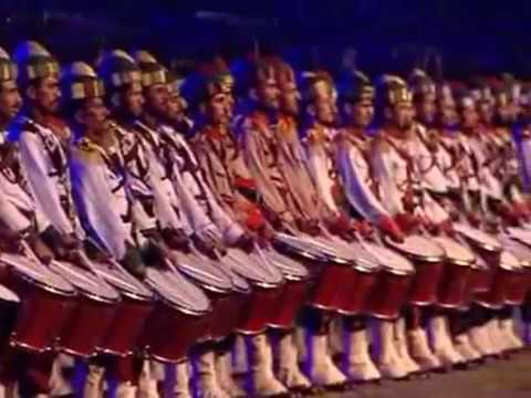 Rarely seen SAF Games Islamabad opening Ceremony Part 1 - 2003