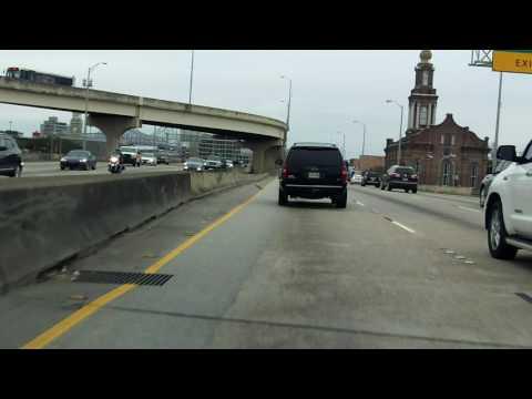 Crescent City Connection Bridge westbound/outbound