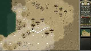 Panzer Corps Afrika Korps Gameplay  [ PC HD ]