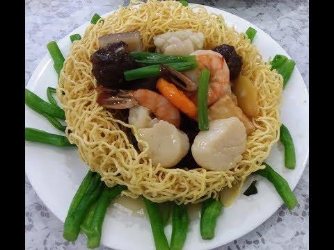 Mì xào giòn đồ biển - New York / Seafood Pan Fried Noodle