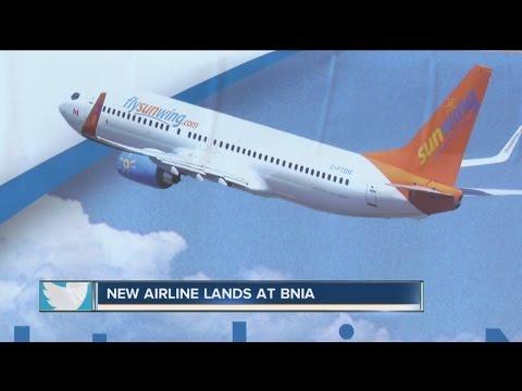 First International Flight Leaves Buffalo Niagara International Airport Saturday