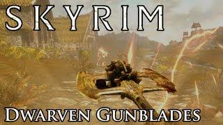 Skyrim Mod: Dwarven Gunblades - Weapon Crossbreeds