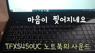 한성 르누아르 노트북 TFX5450UC 후기, 갓성비의…