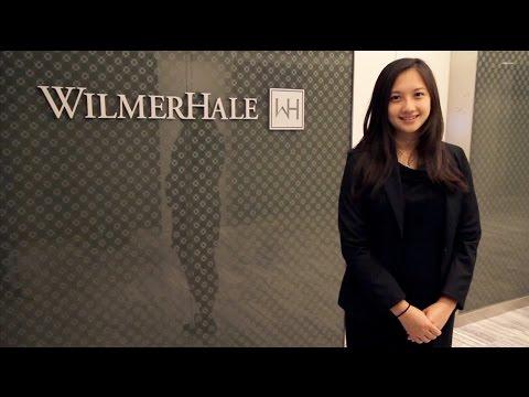 Making summer count: Alyce Chen at WilmerHale