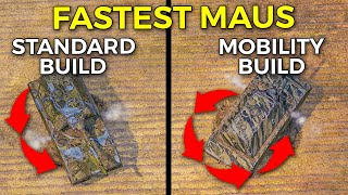 2,118 Horse Power Fastest Maus Speed Build! | World of Tanks Maus Fastest Speed Equipment 2.0