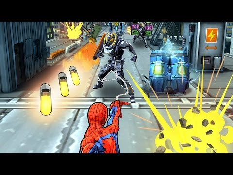 Monster Spiders and Silver Sable in Spider-Man Unlimited!