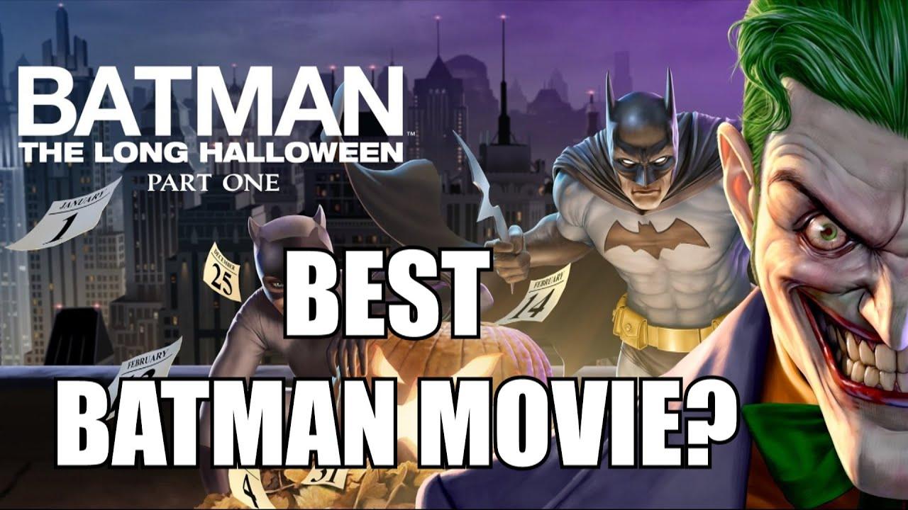 The Best Animated Batman Movie?   Batman The Long Halloween Part 1 Review