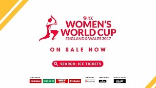 ICC Women's World Cup 2017 Tickets on sale now!